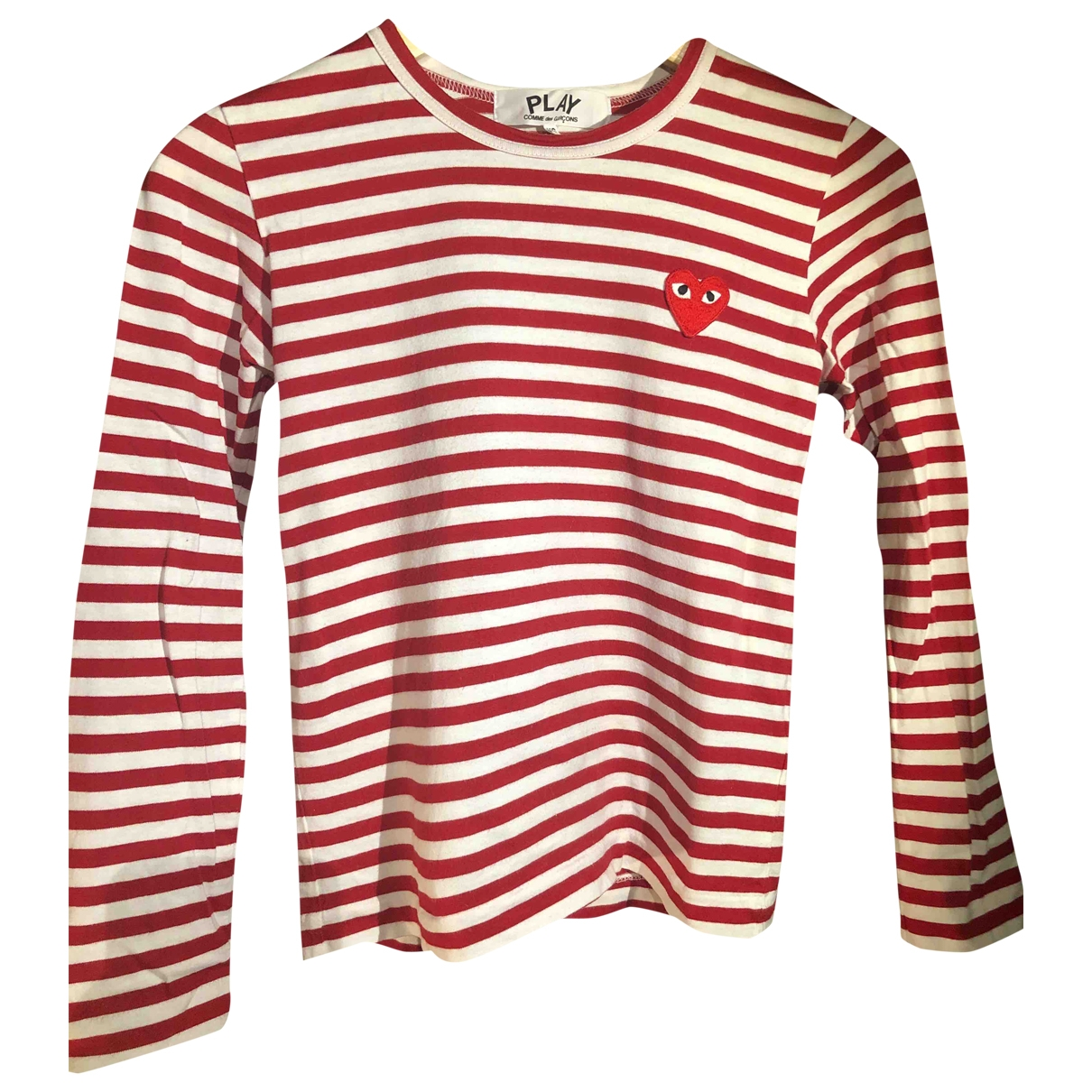 Play Comme Des Garons \N Red Cotton  top for Women XS International