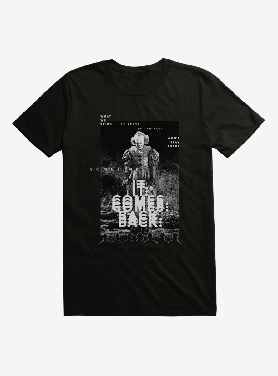 IT Chapter Two IT Comes Back Poster T-Shirt