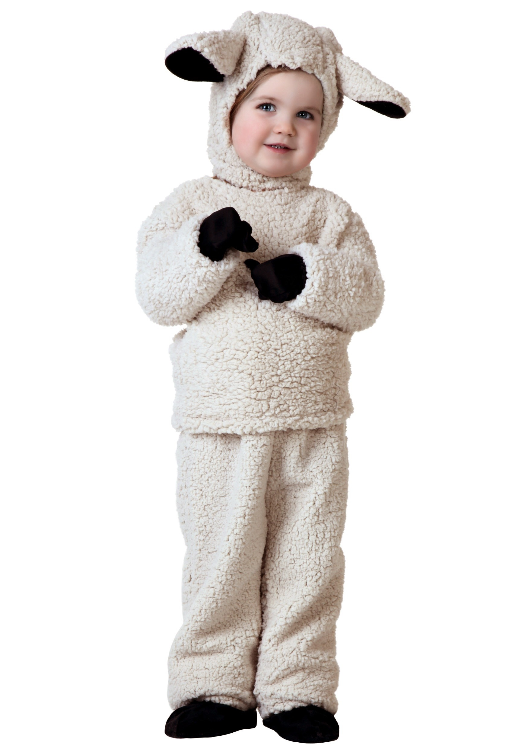 Woolly Sheep Costume for Toddlers