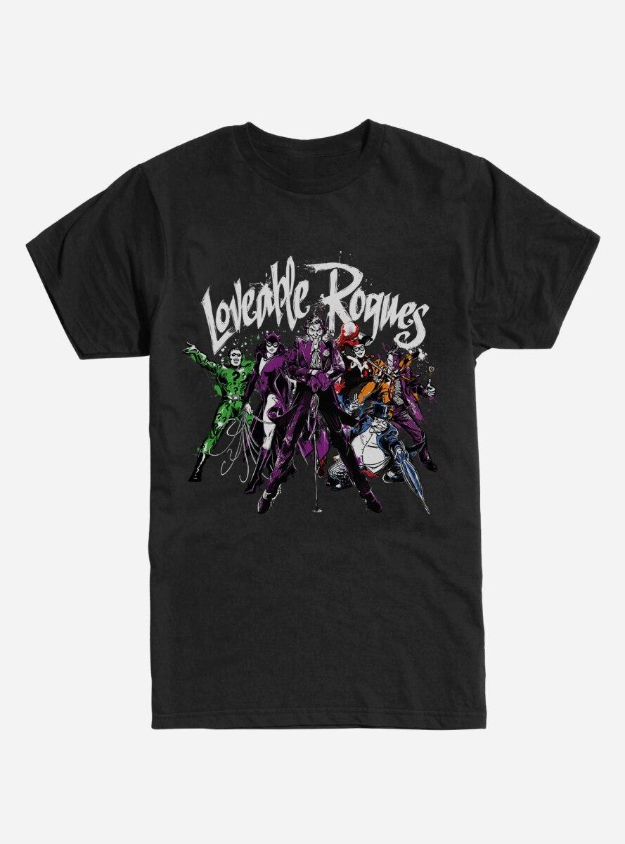 DC Comics Batman Loveable Rogues T-Shirt