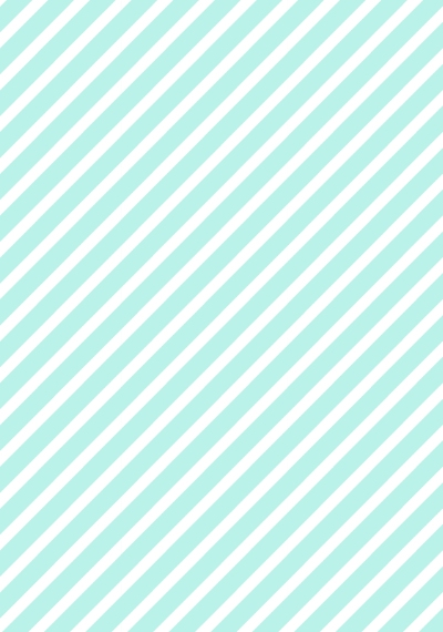 Non Photo Collage Canvas Print, 20x30, Home Décor -Aqua Stripes