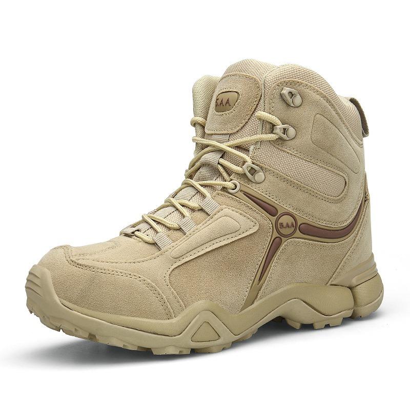 Ericdress Patchwork Round Toe Men's Boots