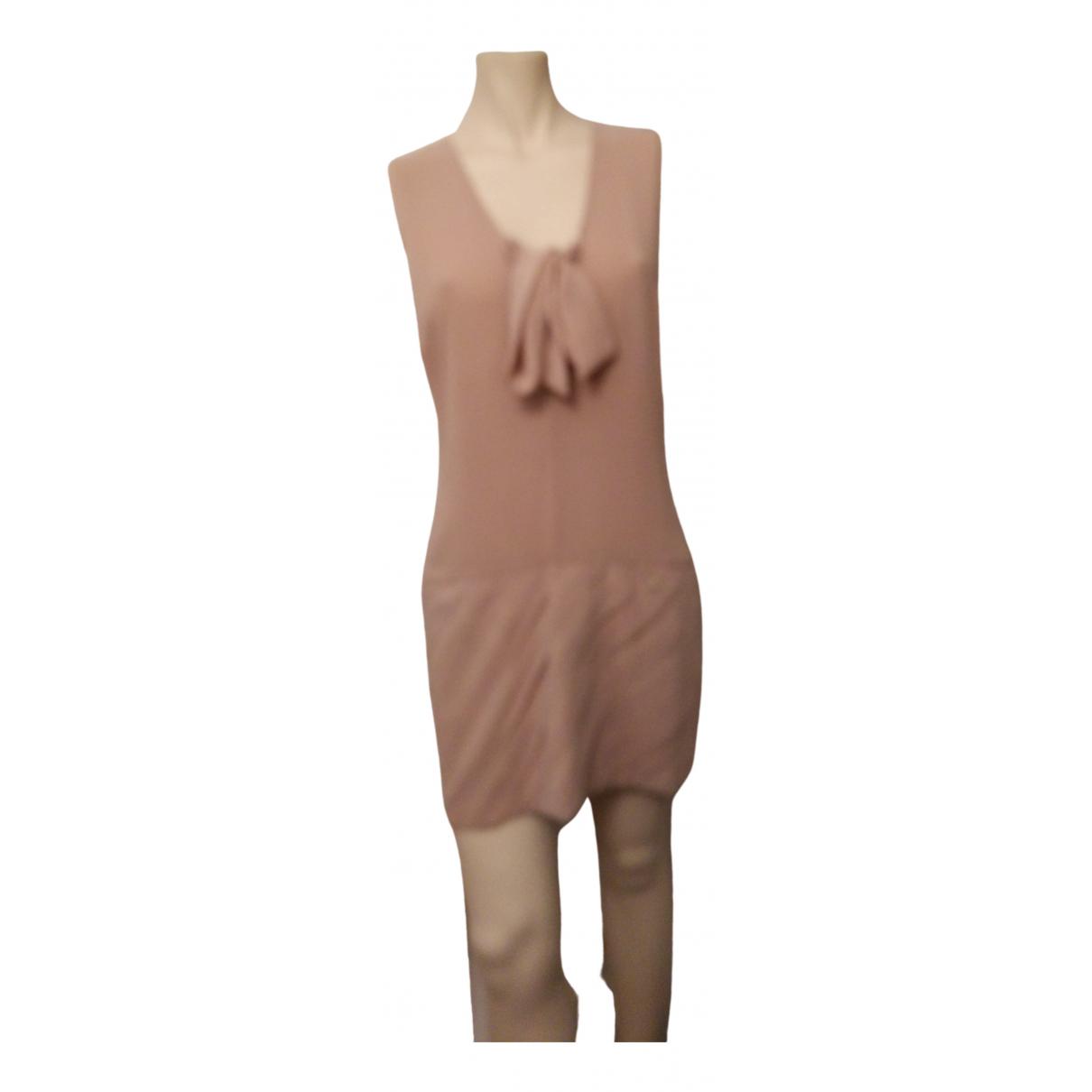 Elisabetta Franchi \N Beige dress for Women 46 IT