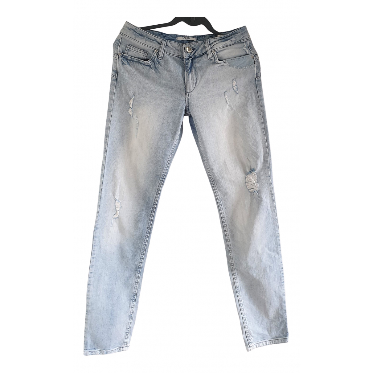 Liu.jo \N Blue Cotton - elasthane Jeans for Women 30 US