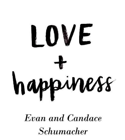 Non-Photo Wood Hanger Board Print, 11x14, Home Décor -Love+Happiness
