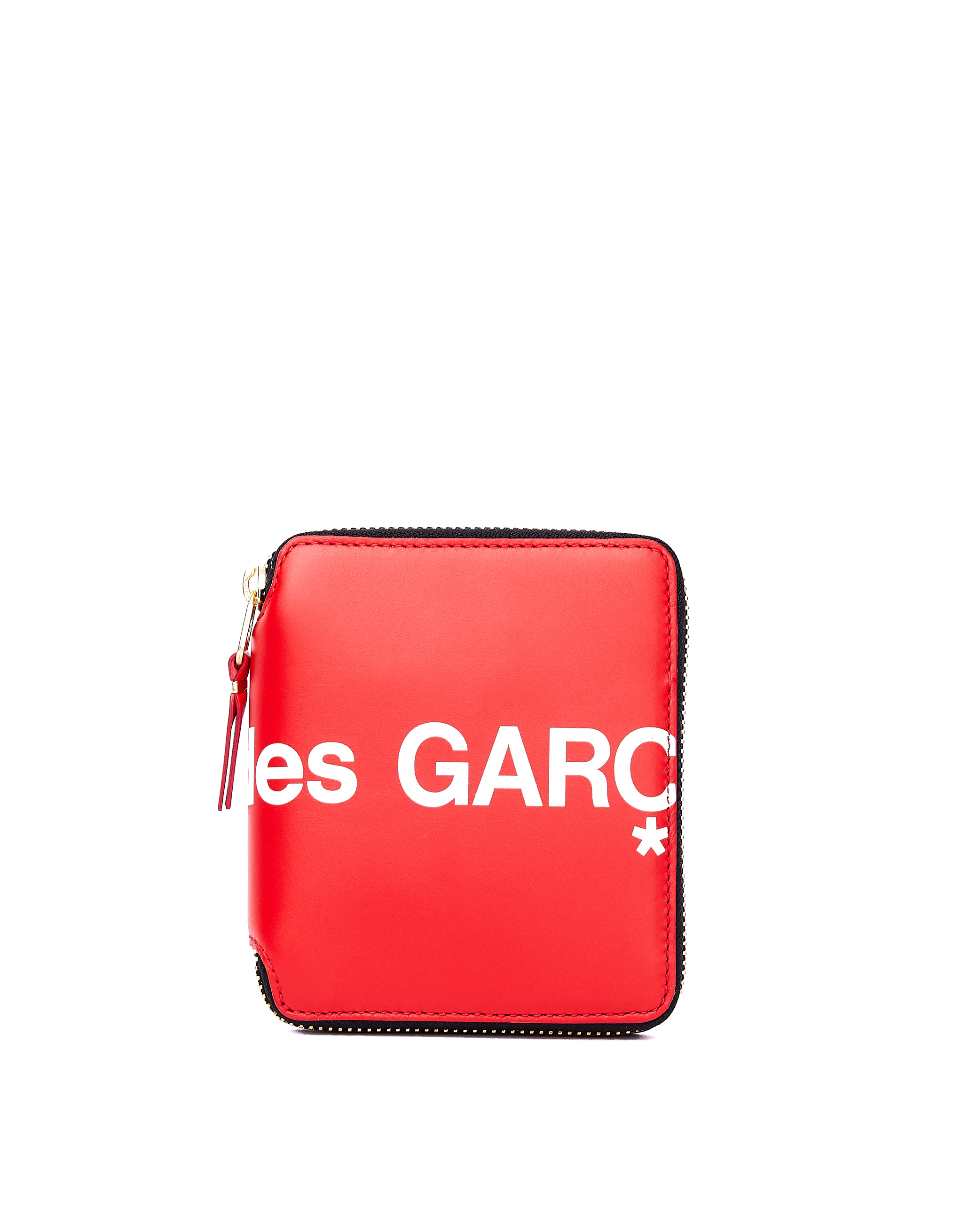 Comme des Garcons Wallets Red Leather Wallet