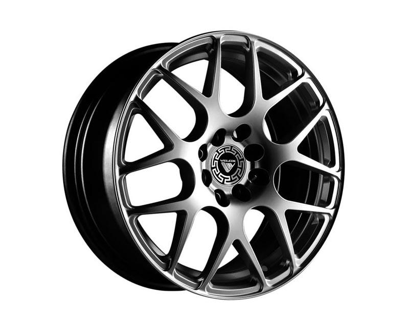 Velox Wheels 505054 Apex Wheel 20x8.5 5x114.3 40 SLGLXX Euro Silver
