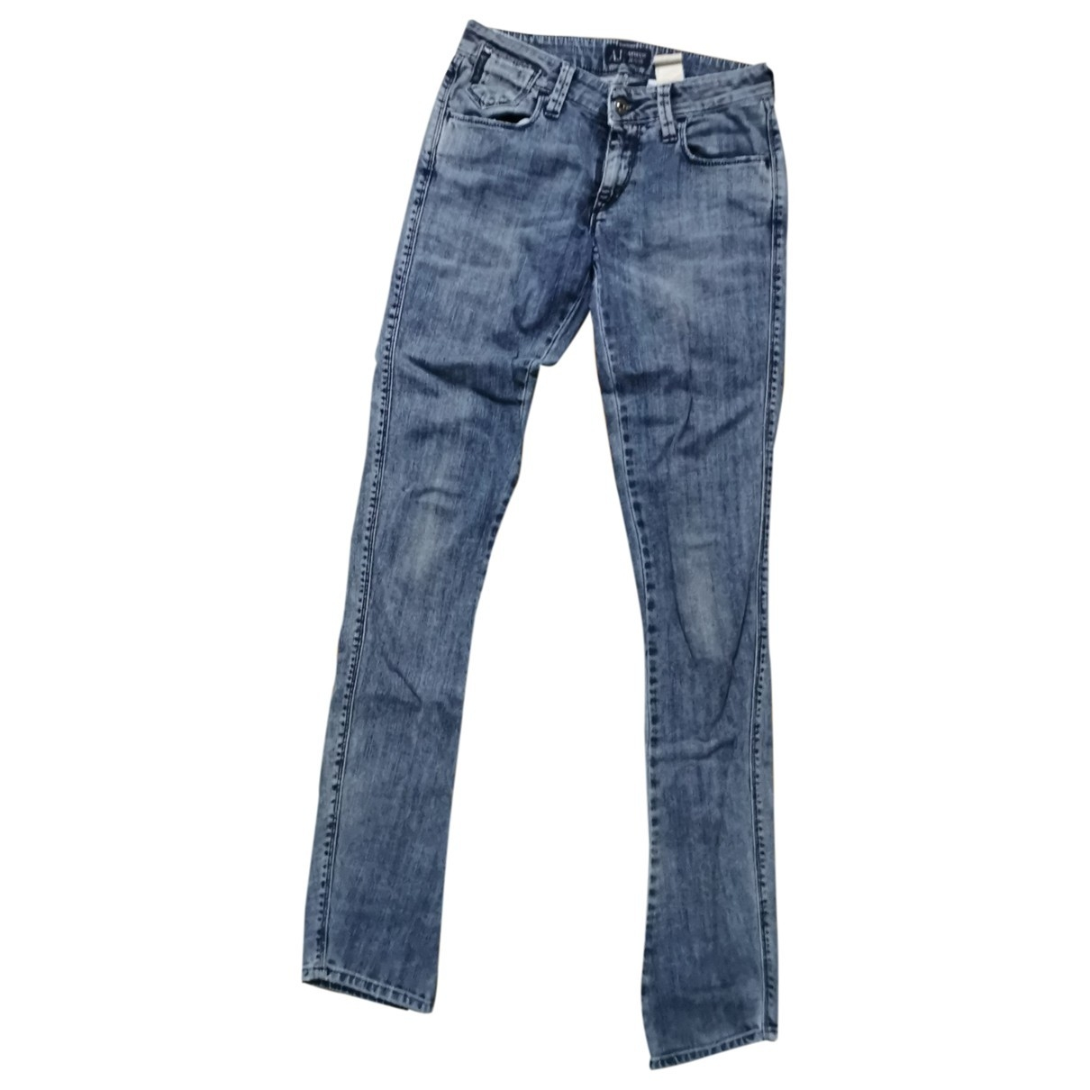 Armani Jeans \N Cotton - elasthane Jeans for Women 26 US