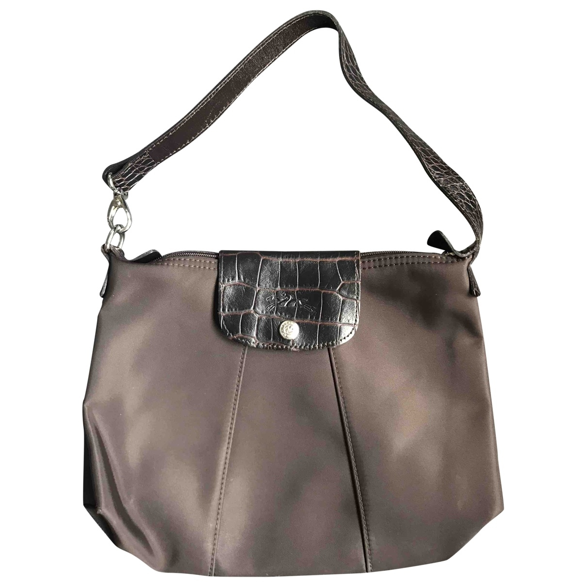 Longchamp \N Brown Cloth handbag for Women \N