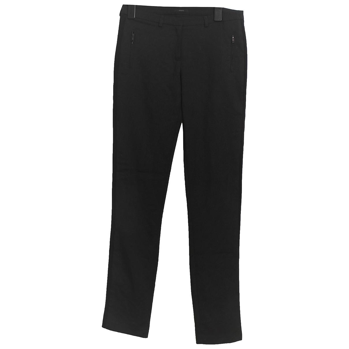 Ikks \N Black Trousers for Women 38 FR
