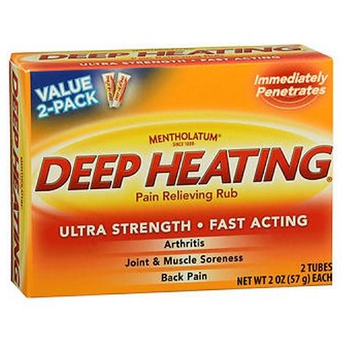 Mentholatum Deep Heating Pain Relieving Rub 2 oz by Mentholatum