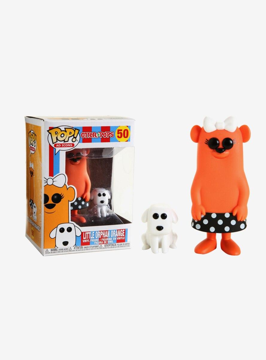 Funko Pop! Otter Pops Little Orphan Orange Vinyl Figure