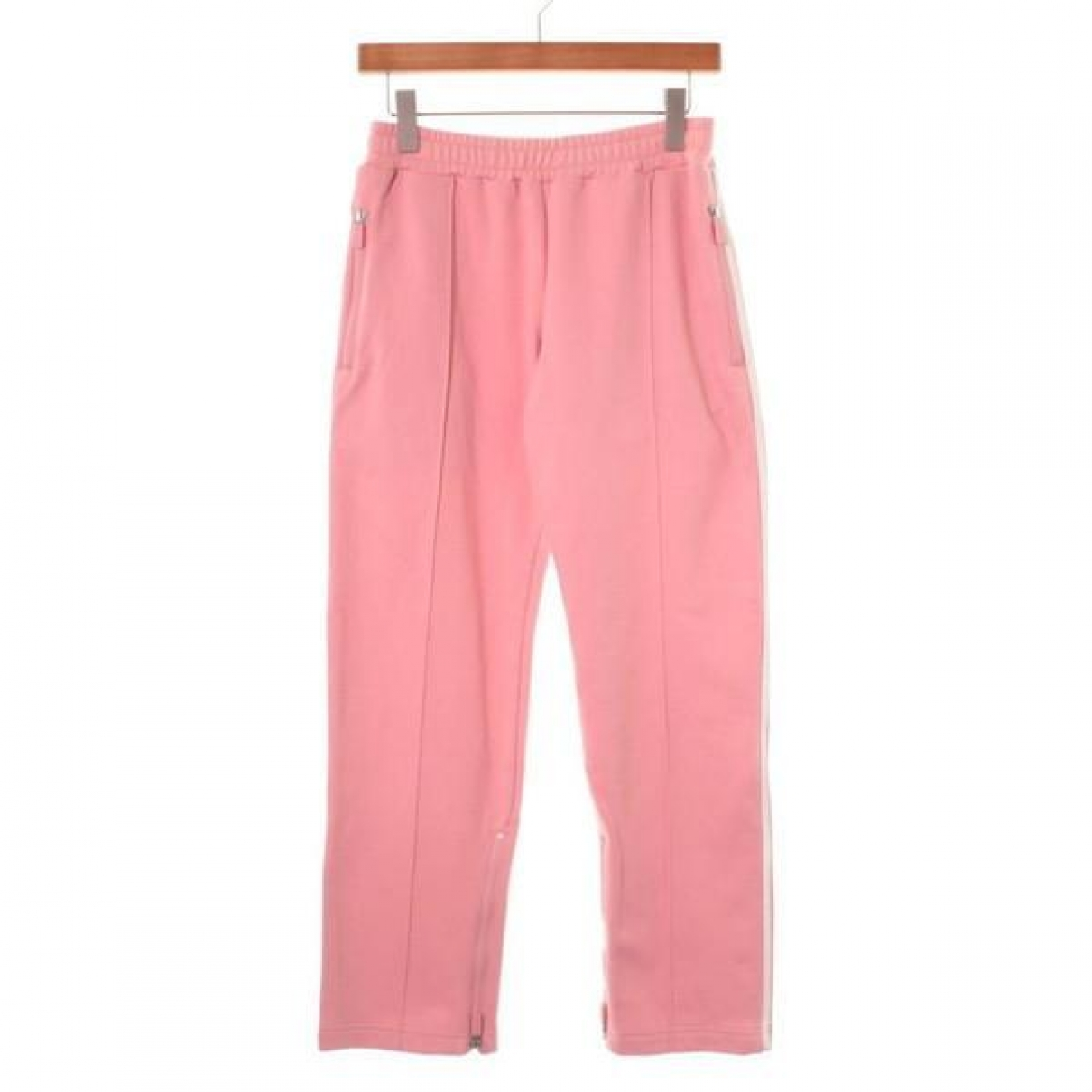 Y-3 \N Pink Cotton Trousers for Women 2 US