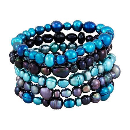 Honora Legacy Womens 5-pc. Multi Color Bracelet Set, One Size , No Color Family