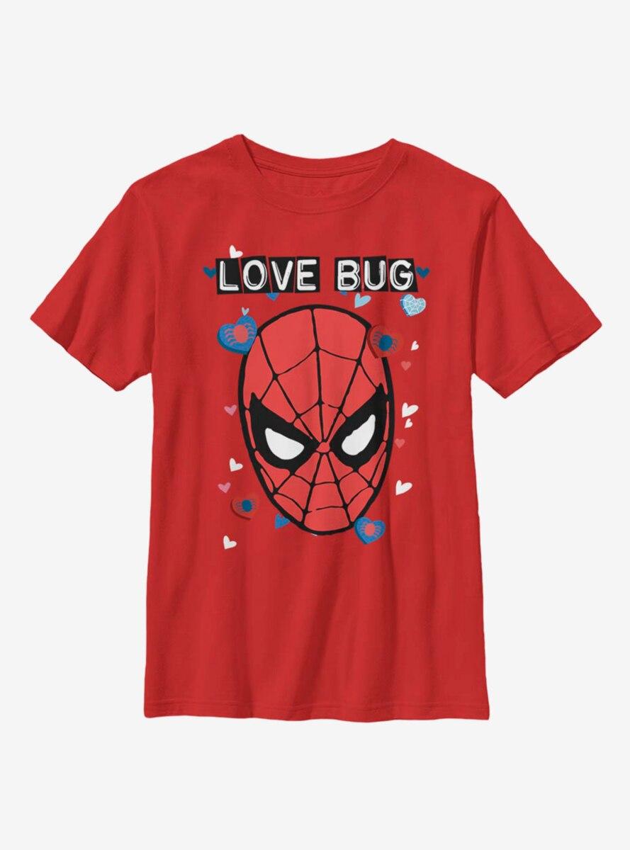 Marvel Spider-Man Love Bug Youth T-Shirt