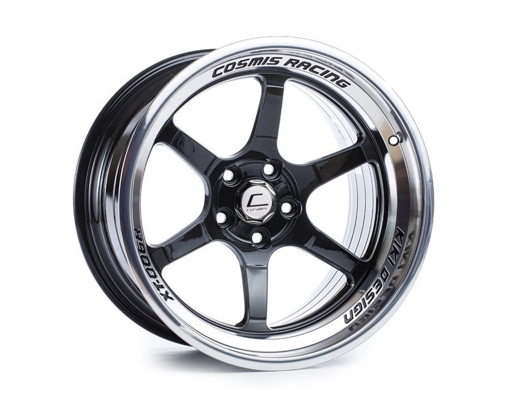 Cosmis Racing XT006R-1895-10-5x114.3-BML XT-006R Wheel 18x9.5 5x114.3 +10mm Black w/ Machined Lip