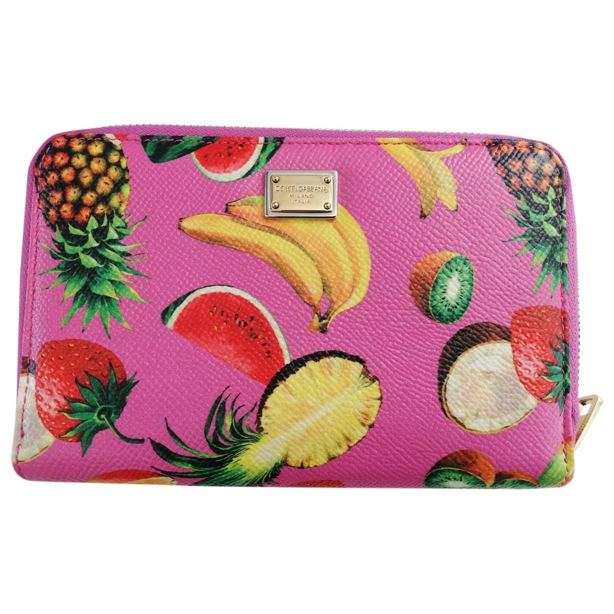 Dolce & Gabbana \N Multicolour Leather wallet for Women \N