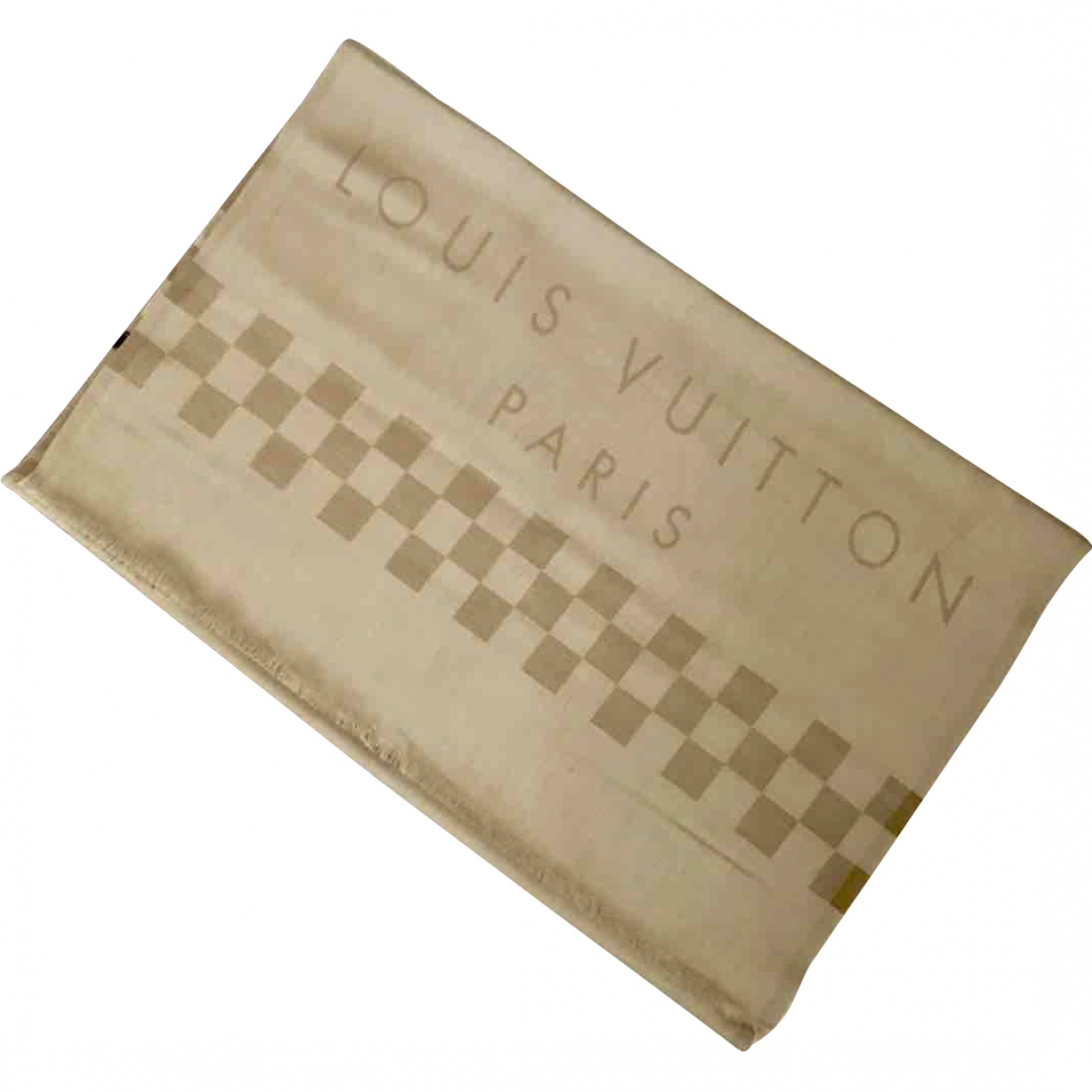Louis Vuitton \N Beige Cashmere scarf for Women \N