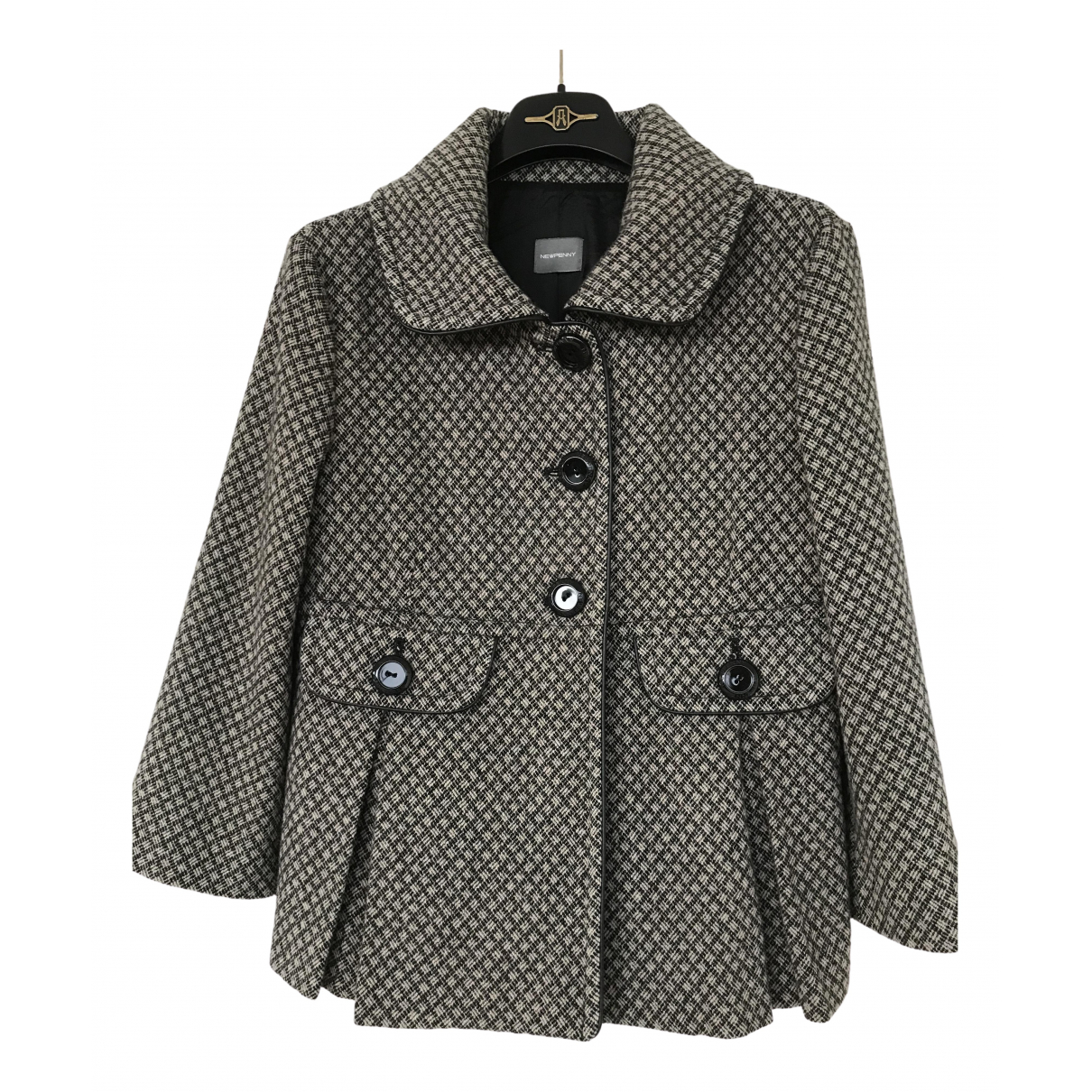 Non Signé / Unsigned \N Wool jacket for Women 8 US