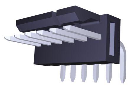 Molex , KK 254, 171857, 6 Way, 1 Row, Right Angle PCB Header (5)