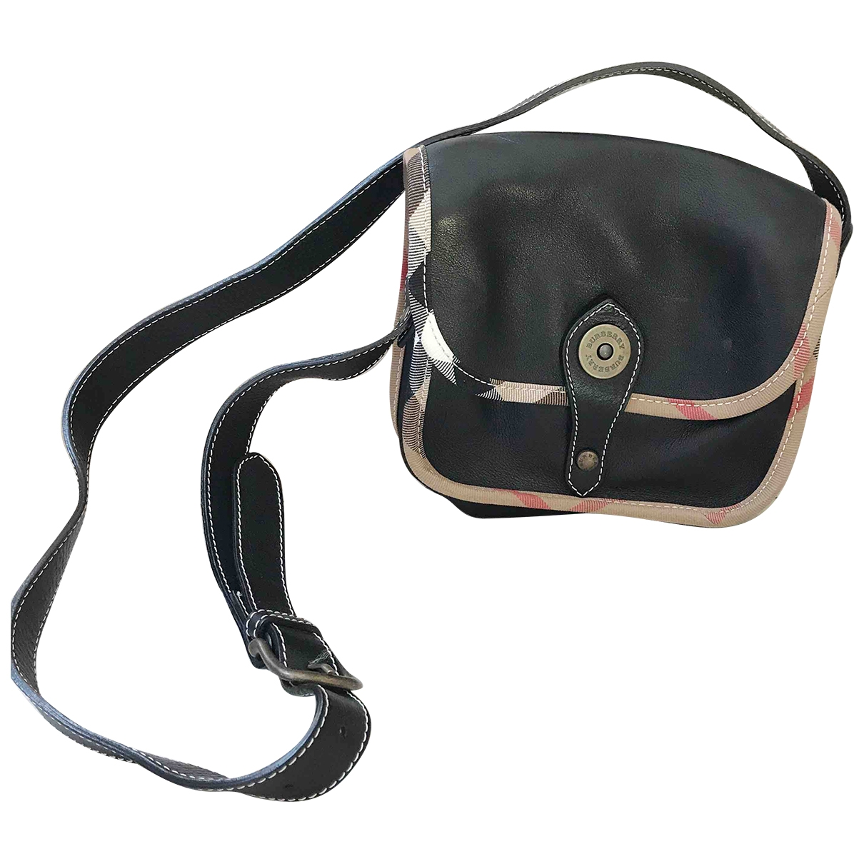 Burberry \N Black Leather handbag for Women \N