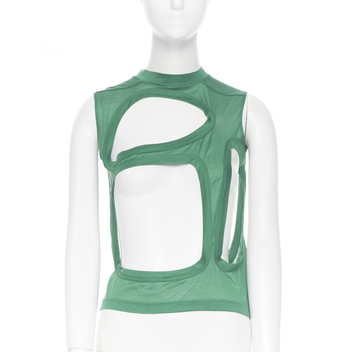 Rick Owens \N Green Cotton  top for Women 40 IT