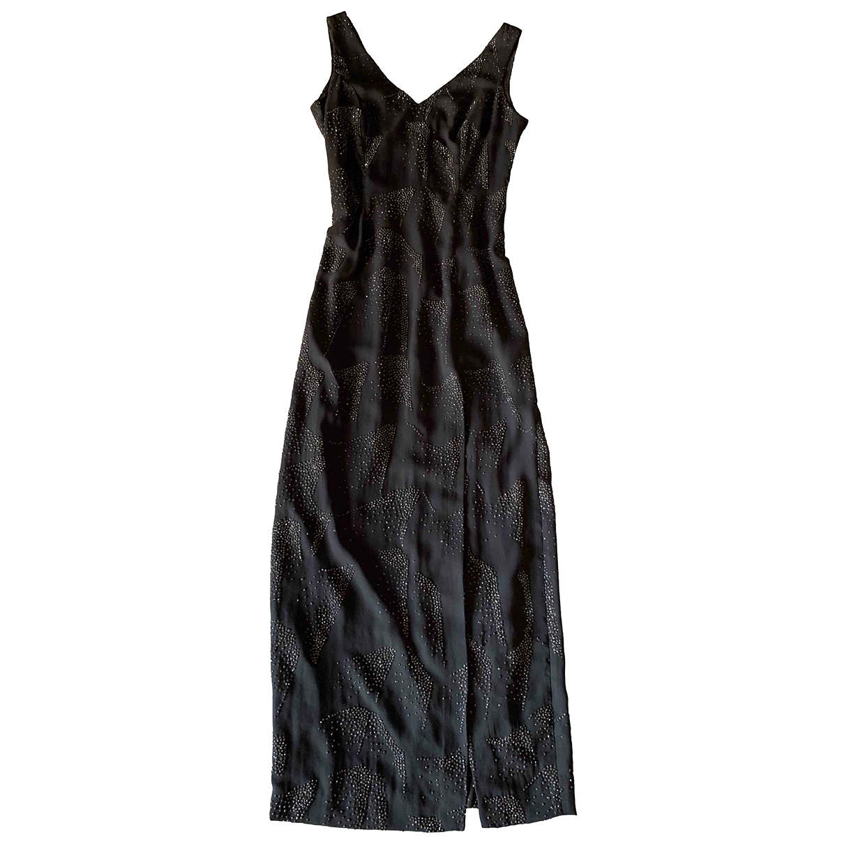 Non Signé / Unsigned \N Anthracite dress for Women 38 FR