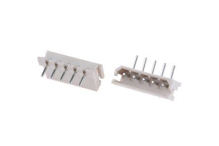 Molex , SPOX, 5268, 5 Way, 1 Row, Right Angle PCB Header (10)