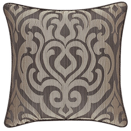 Queen Street Antonia 18x18 Square Throw Pillow, One Size , Brown