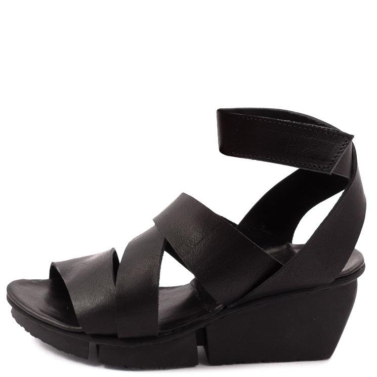 Trippen, Film Splitt Women's Sandals, black Größe 38