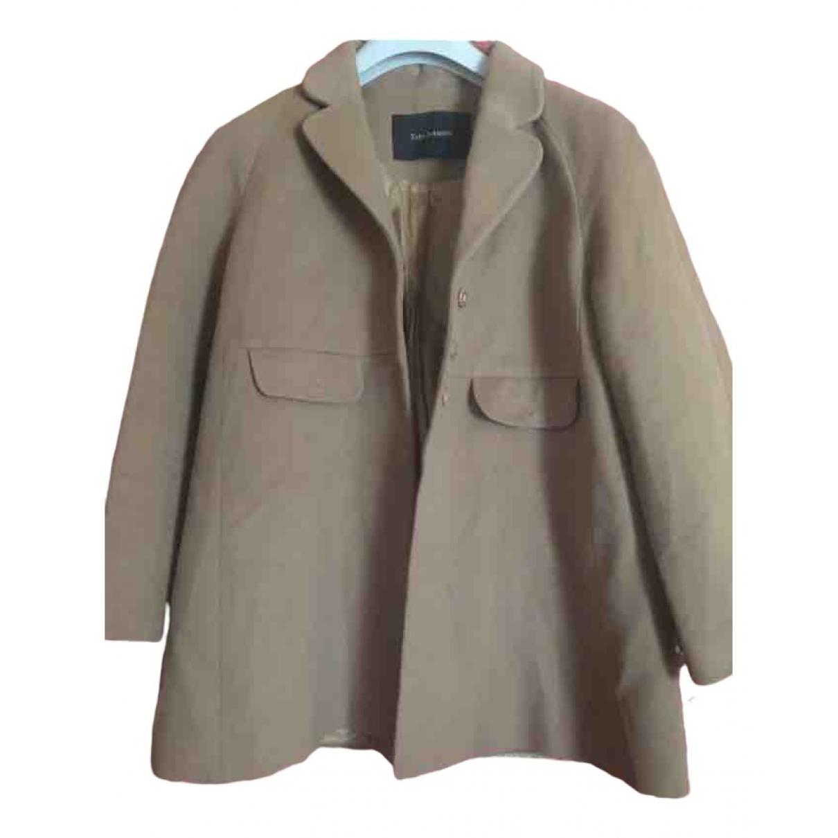 Tara Jarmon \N Beige Cashmere coat for Women 42 FR