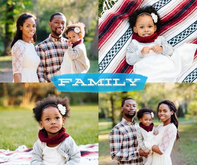 Family + Friends Plush Fleece Photo Blanket, 50x60, Gift -Watercolor Family