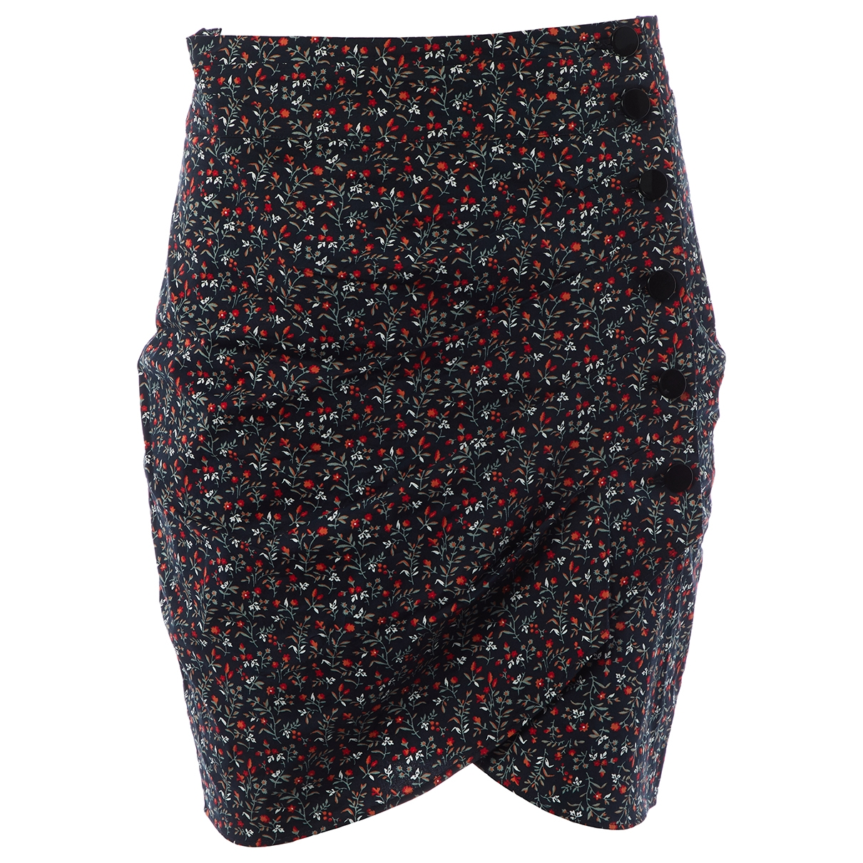 Ba&sh X Vestiaire Collective Sunshine Navy Cotton skirt for Women 3 0-5