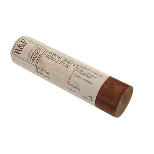 R&f® Handmade Paints Pigment Stick®, 100 ml By R&f Handmade Paints in Brown Pink | Michaels®