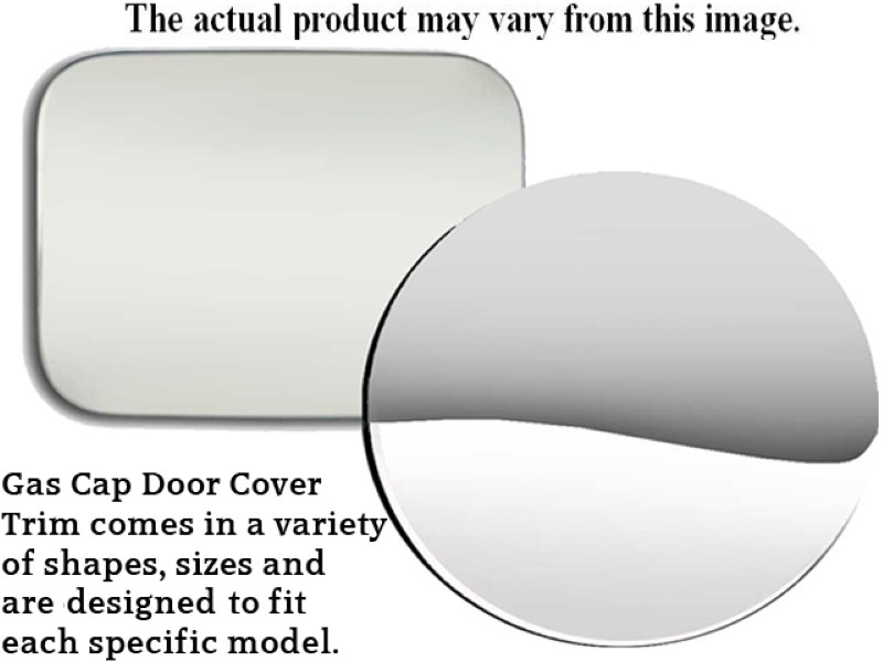 Quality Automotive Accessories 1 Piece Stainless Gas Door Cover Trim Lincoln Town Car  90-94