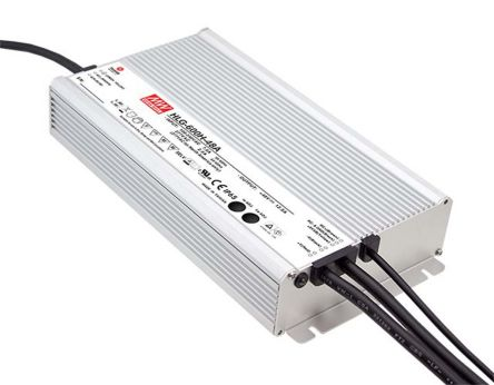Mean Well HLG-600H AC-DC, DC-DC Constant Voltage LED Driver 600W 48V