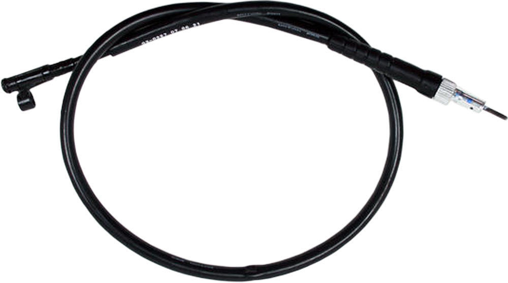 Motion Pro 02-0227 Black Vinyl Speedo Cable 02-0227