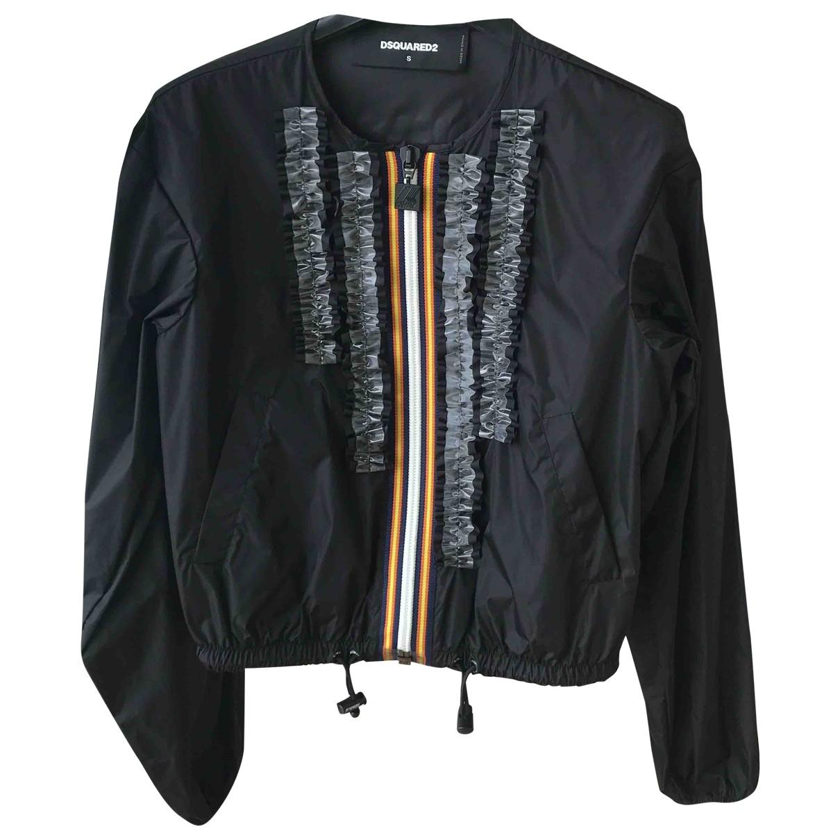 Dsquared2 \N Black Leather jacket for Women S International
