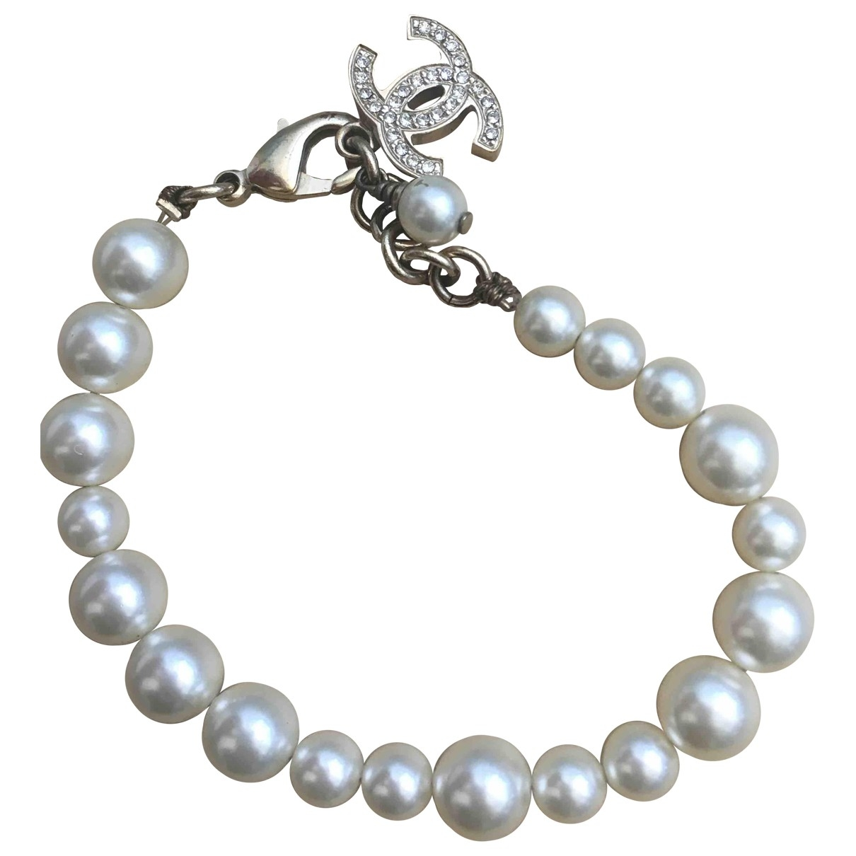 Chanel \N White Metal bracelet for Women \N