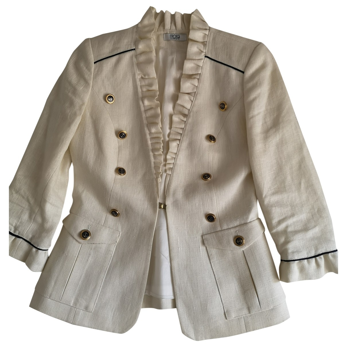 Non Signé / Unsigned \N Linen jacket for Women S International