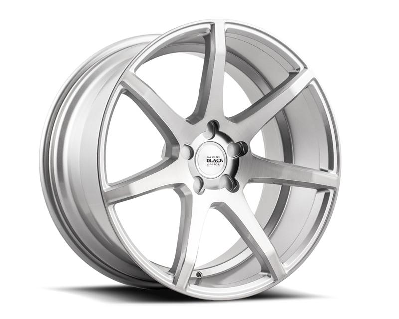 Savini BM10-19085515R4570 di Forza  Brushed Silver BM10 Wheel 19x8.5 5x115 45mm