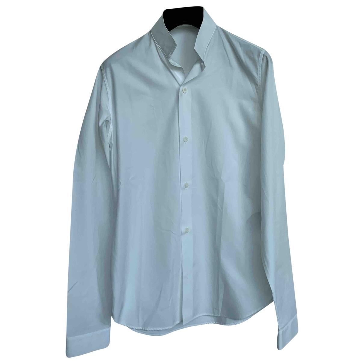 Dior Homme \N White Cotton Shirts for Men 38 EU