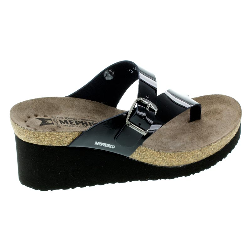 Mephisto Tyfanie Black Patent Leather High Heel 10 R
