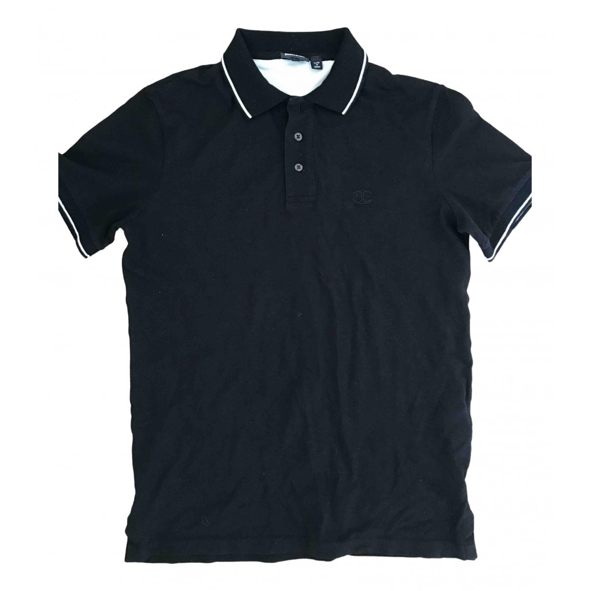Just Cavalli \N Black Cotton Polo shirts for Men M International