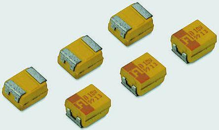 AVX Tantalum Capacitor 470μF 4V dc MnO2 Solid ±10% Tolerance , TPS
