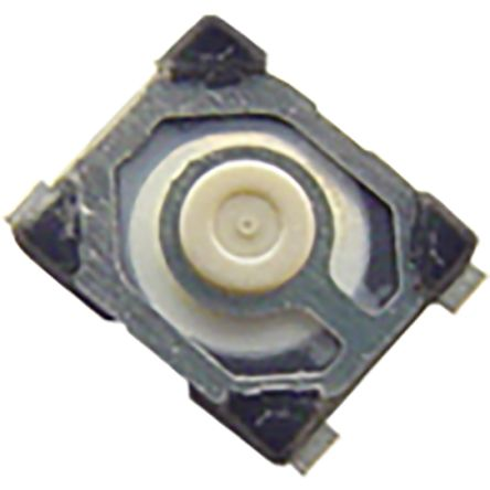 C & K IP54 Top Tactile Switch, Single Pole Single Throw (SPST) 50 mA 0.65mm Surface Mount