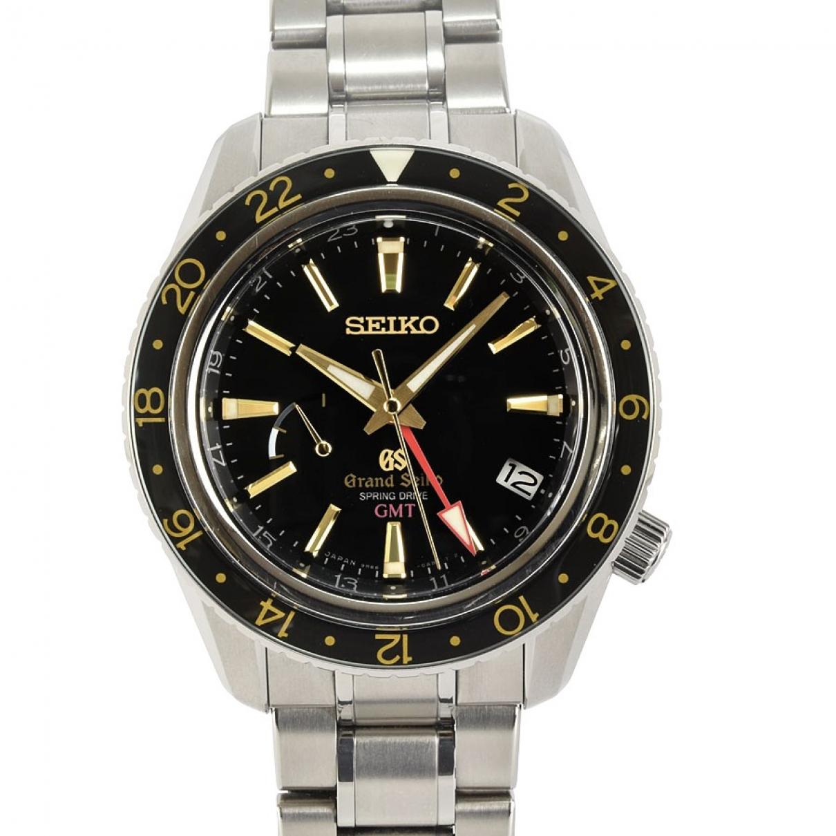 Grand Seiko \N Black Titanium watch for Men \N