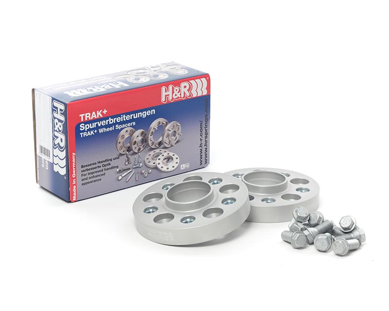 H&R 50757251 Trak+ | 5x120 | 72.5 | Bolt | 14x1.5 | 25mm DRA Wheel Spacer BMW 750Li E65 02-08
