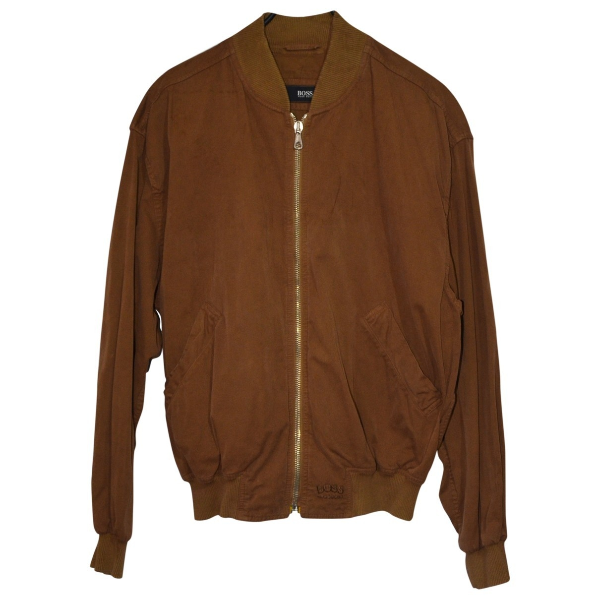 Hugo Boss \N Camel Cotton jacket  for Men M International