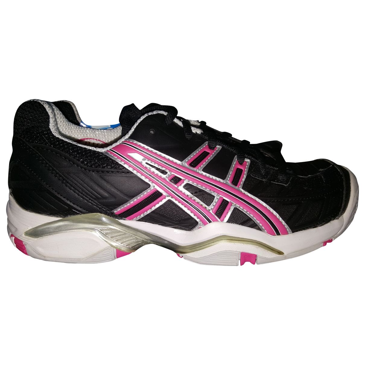 Asics \N Black Leather Trainers for Women 38 IT